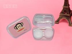 卡通封面粉壳隐形眼镜套装盒